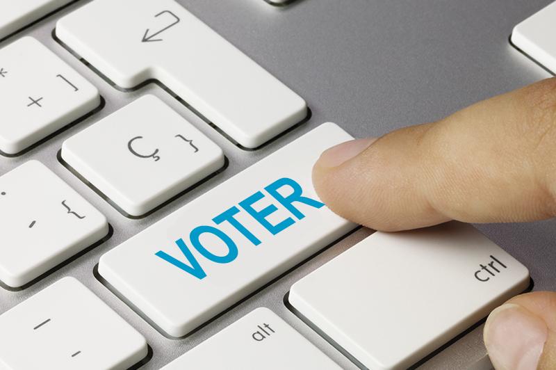 bouton de vote