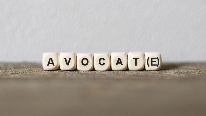 Le mot 'avocat(e)'