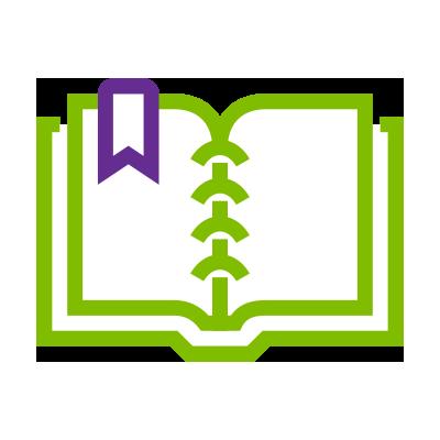 Une icône d'un livre