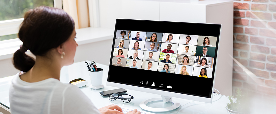A virtual meeting